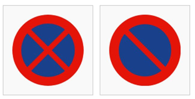 No-parking-signs